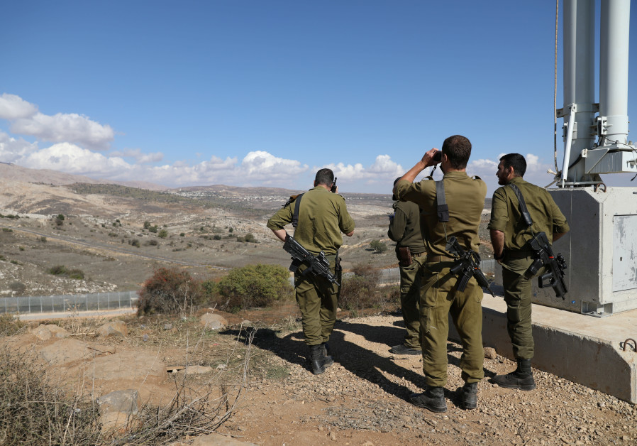 IDF fires on Syrian targets near Golan Heights