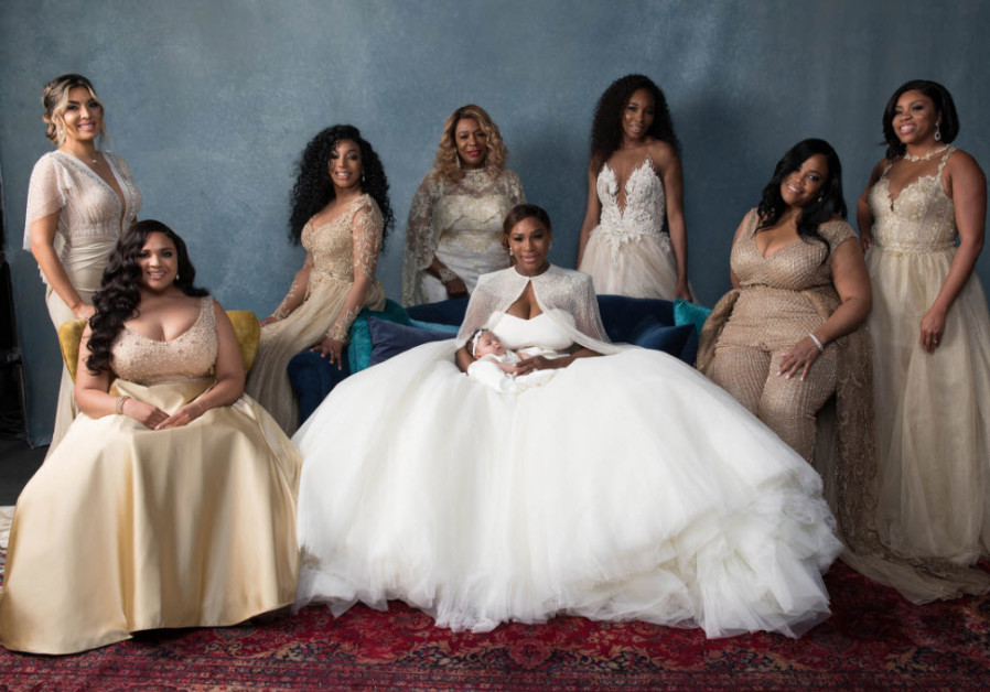 Fashion Grand Slam: Serena Williams's bridal party wears Israeli designer