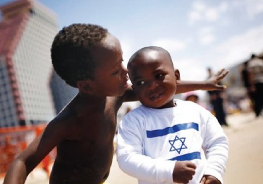 A Jewish philanthropist furious at Israeli treatment of African refugees