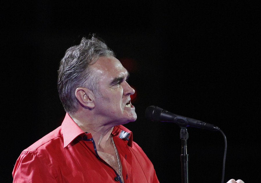 British singer-songwriter Morrissey performs during the International Song Festival in Vina del Mar,