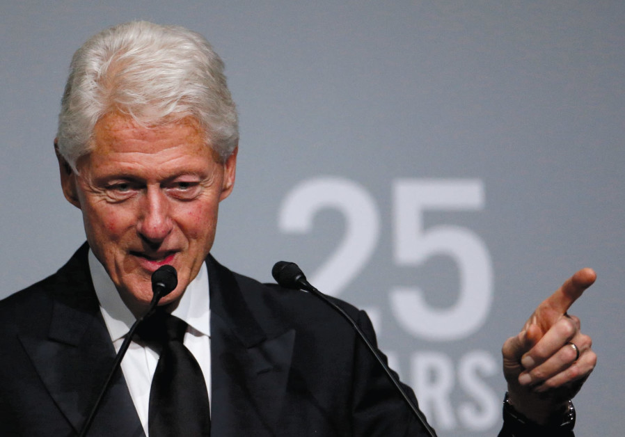 Police find portrait of Bill Clinton in dress in Epstein mansion