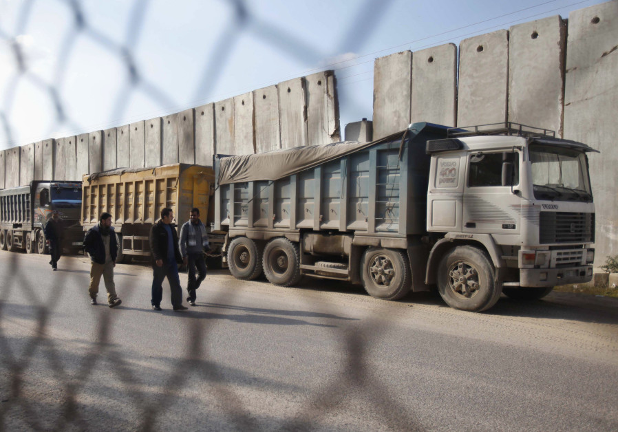 Israel closure of vital Gaza commercial border takes effect