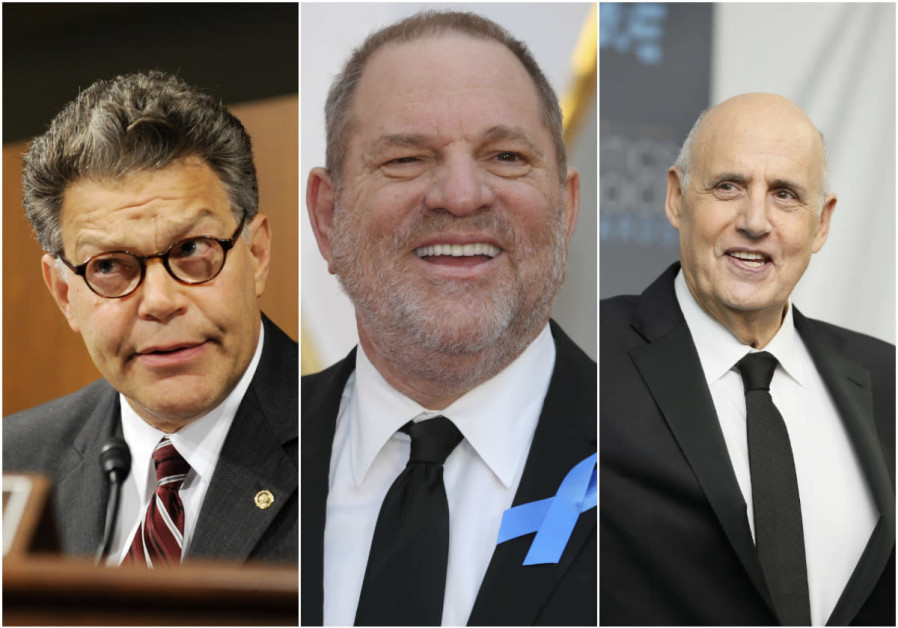 Al Franken, Harvey Weinstein and Jeffrey Tambor