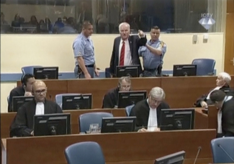 """""""Butcher of Bosnia"""" Mladic convicted of genocide, gets life in prison"""