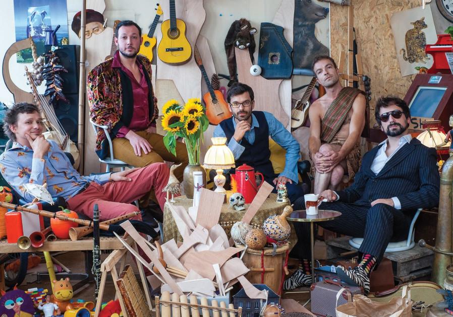 The Papanosh quintet