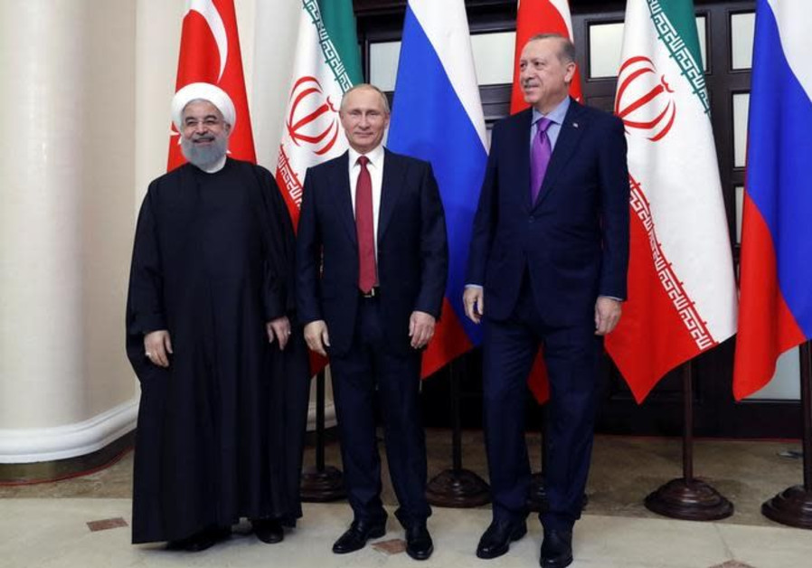 Turkey, Iran agree to support Putin-proposed 'Syrian people's congress'