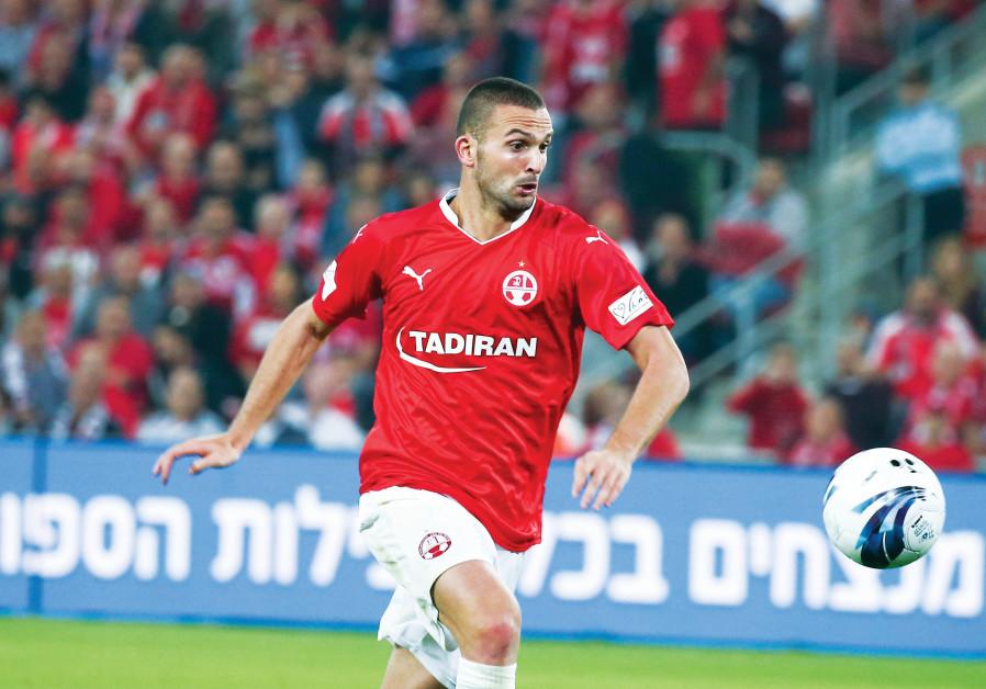 Hapoel Beersheba striker Ben Sahar