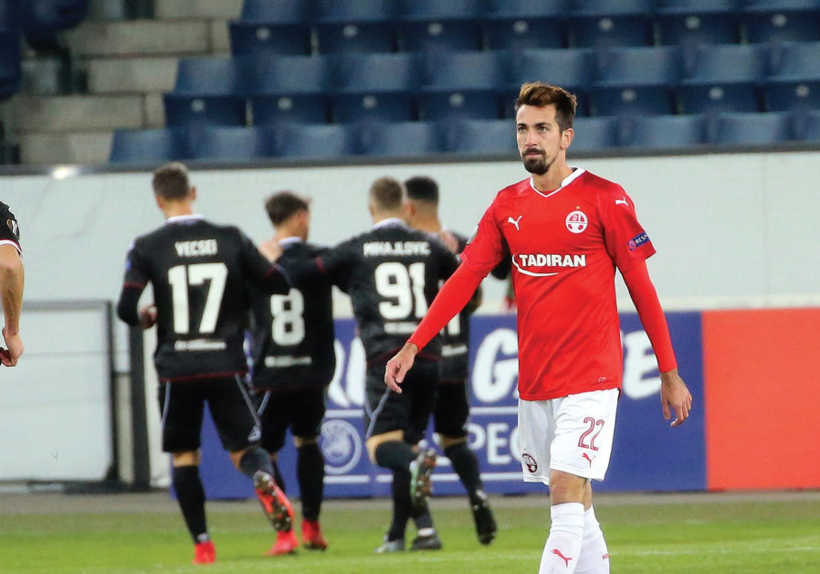 Hapoel Beersheba sent packing from Europe