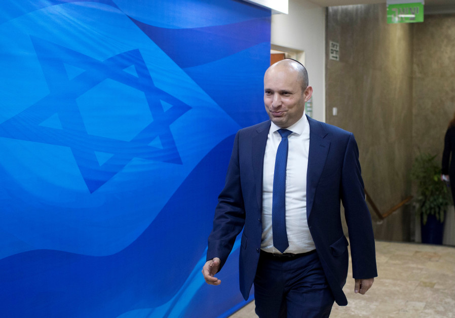 Bennett condemns Joint List MKs for support of Corbyn