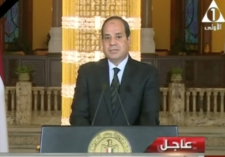 Sisi: Egypt to confront terror with 'brutal strength' after Sinai attack