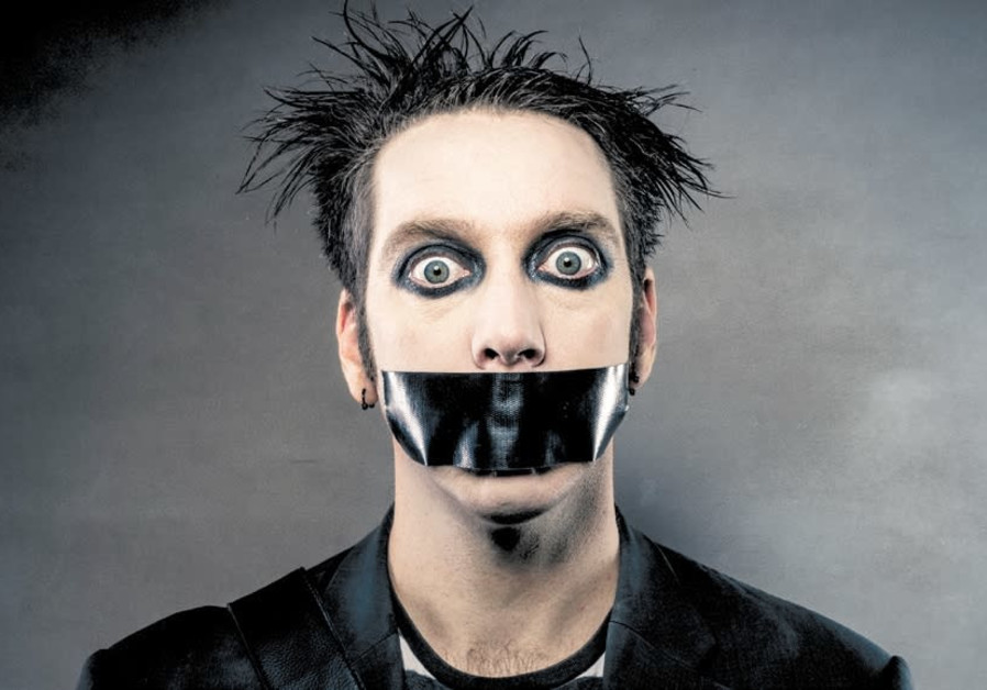 SILENCE IS golden: New Zealand comedian, mime and street performer Tape Face.