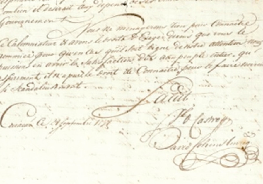 Rare manuscript describes Jews battling antisemitism in 18th-century Caribbean