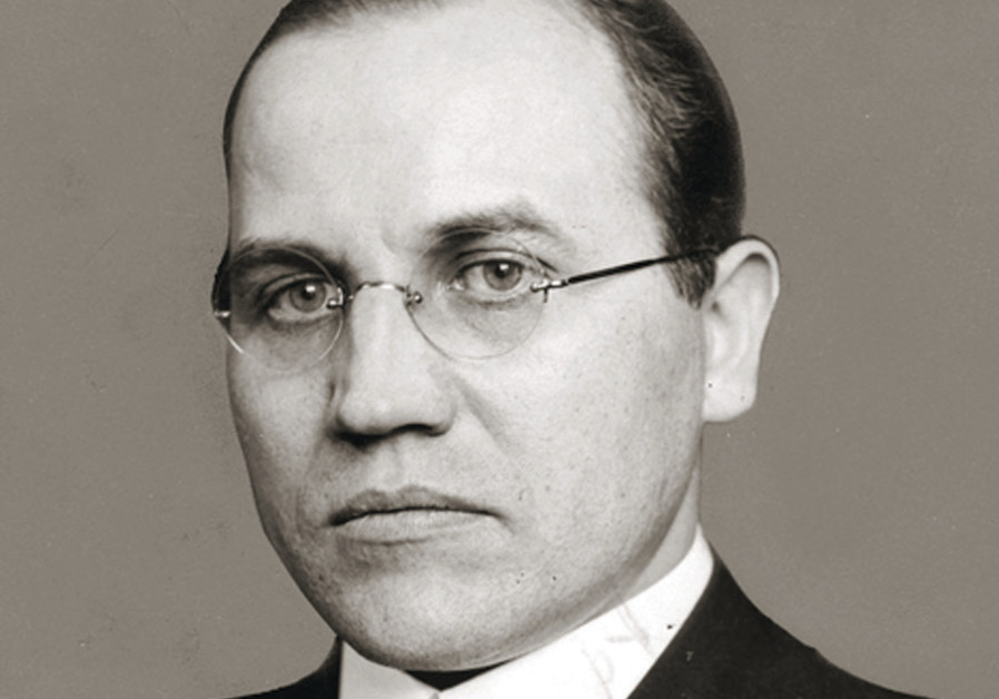 Kazys Skirpa, the Lithuanian representative to Germany who first proposed ethnic cleansing of Jews t
