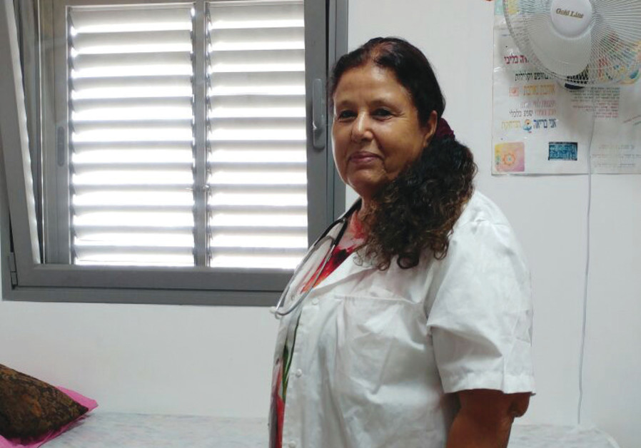 Dr. Geula Batsir in her clinic