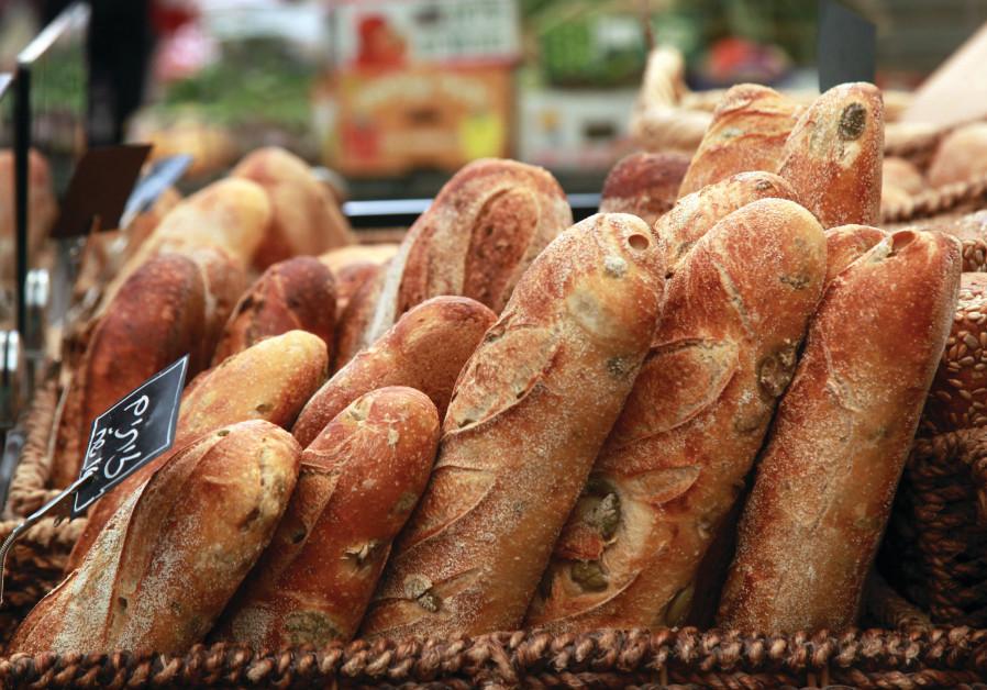 BREAD IN Jerusalem's Mahaneh Yehuda market