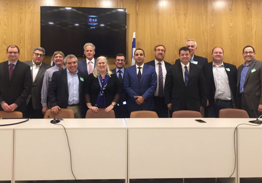 JCRC of Minnesota and the Dakotas meets with members of Knesset in Jerusalem, November 2017