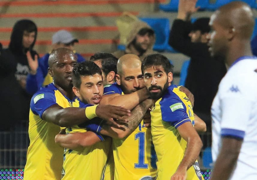 Yellow-and-blue reaches Toto Cup final