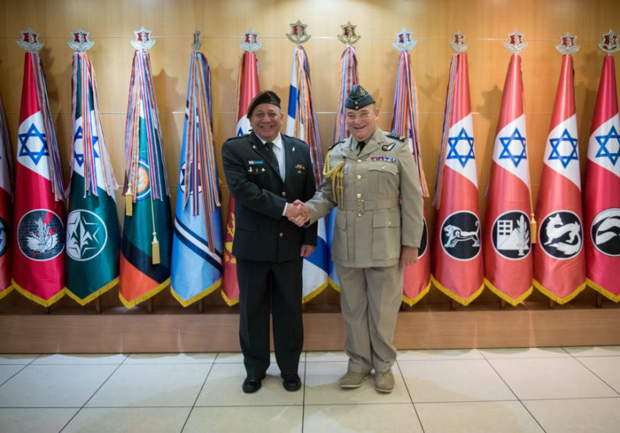 Head of Britain's armed forces arrives in Israel for official visit