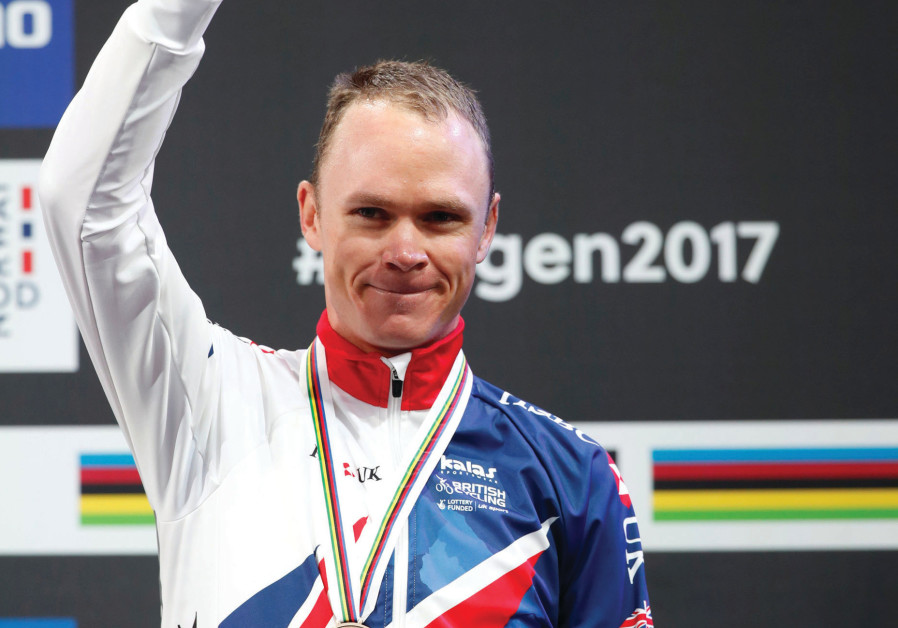 British cyclist Chris Froome