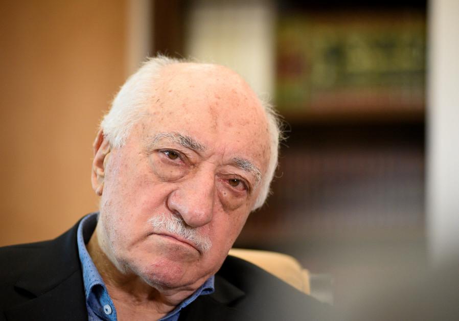 US-based Turkish cleric Fethullah Gulen at his home in Saylorsburg, Pennsylvania, US.