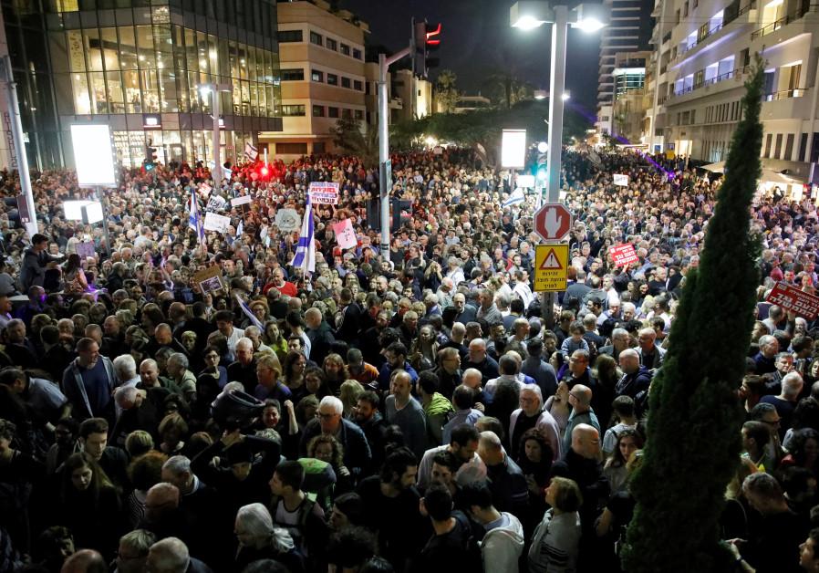 Tel Aviv protest