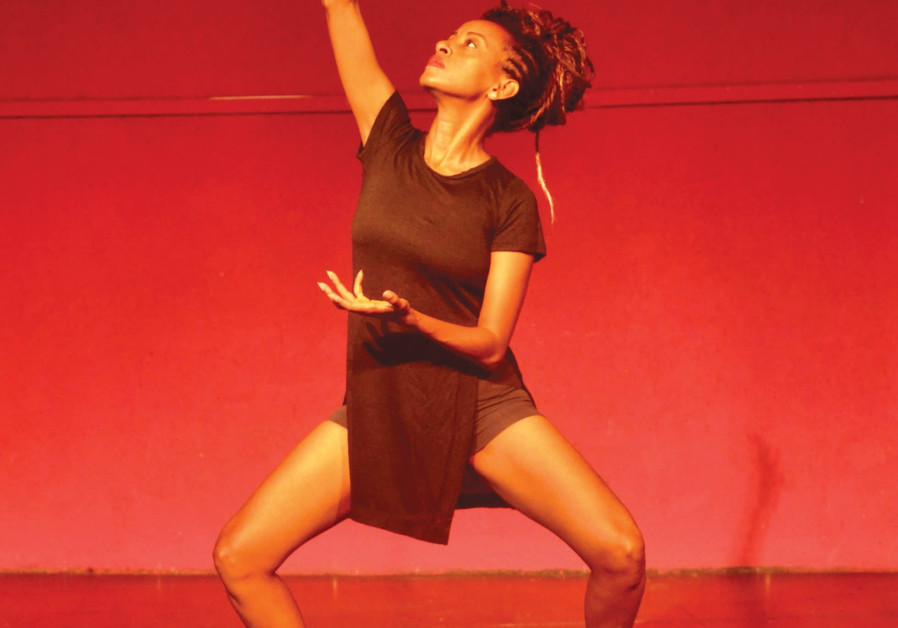 CHOREOGRAPHER/DANCER Dege Feder performs in her latest piece, 'Jalo.'