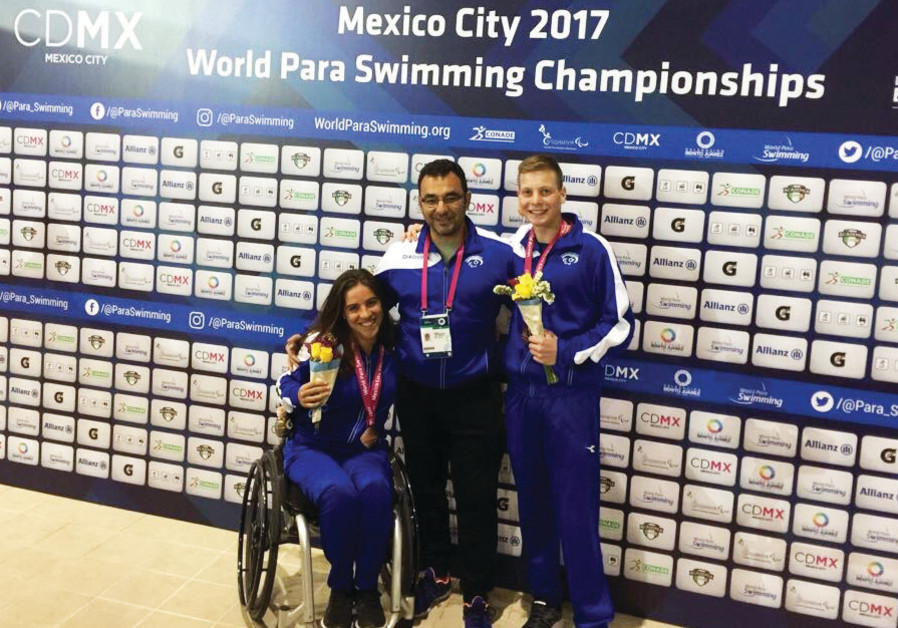 Israel's Pezaro, Malyar grab bronzes in the pool