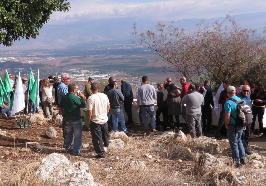 A ch scenic lookout inaugurated in the naftali mountains for World wide motors carmel