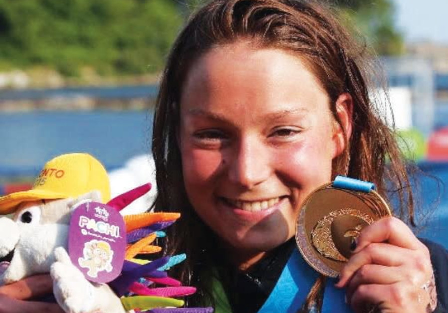 Israeli swimming has received a huge boost with the recent aliya of former open-water world champion