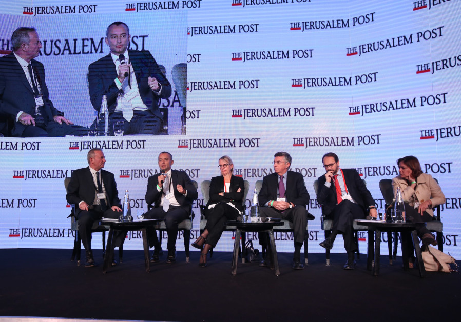 Panel on Global Terror and the Threat to Israel and Europe at Jerusalem Post's 2017 Diplomatic Confe