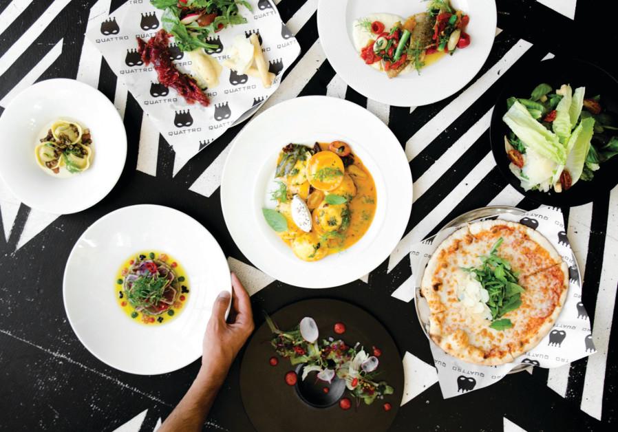 Quattro gives Italian cuisine a Mediterranean flavor