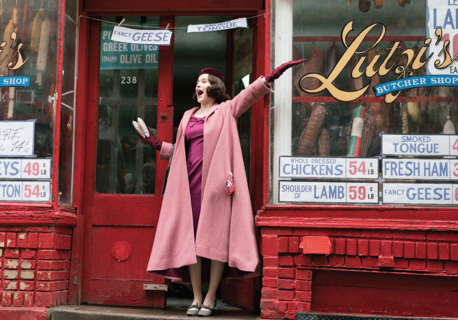 RACHEL BROSNAHAN stars in the critically acclaimed series 'The Marvelous Mrs. Maisel.'