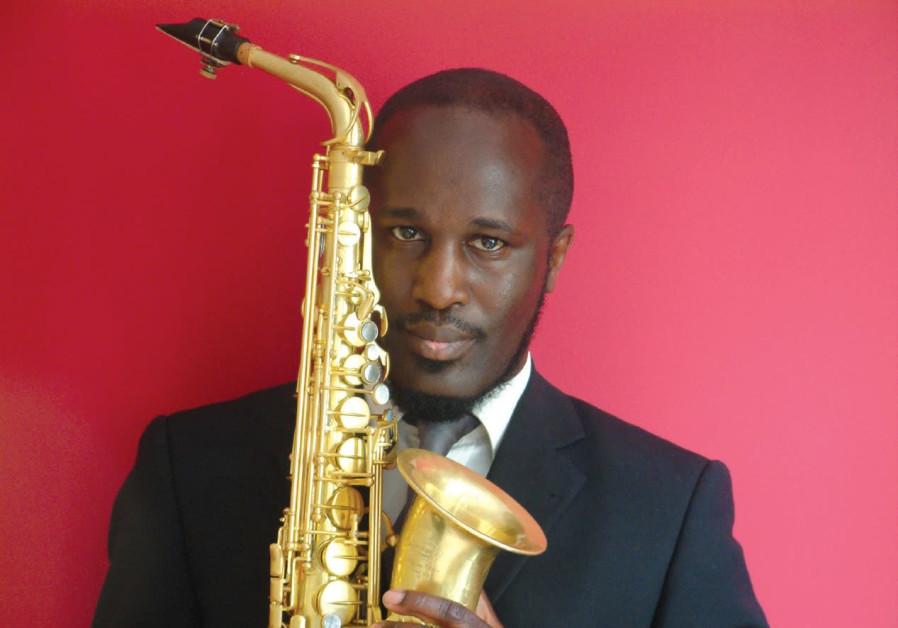 British jazz saxophonist Tony Kofi.