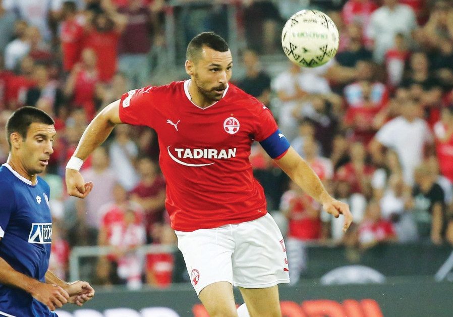 Hapoel Beersheba defender Shir Tzedek faces UEFA's anti-doping tribunal in Nyon, Switzerland, today