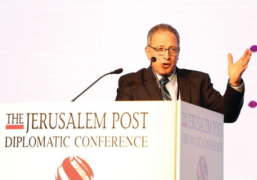 DIRECTOR OF Sheba's Center for Disaster Medicine and Humanitarian Response, Prof. Elhanan Bar-On, a