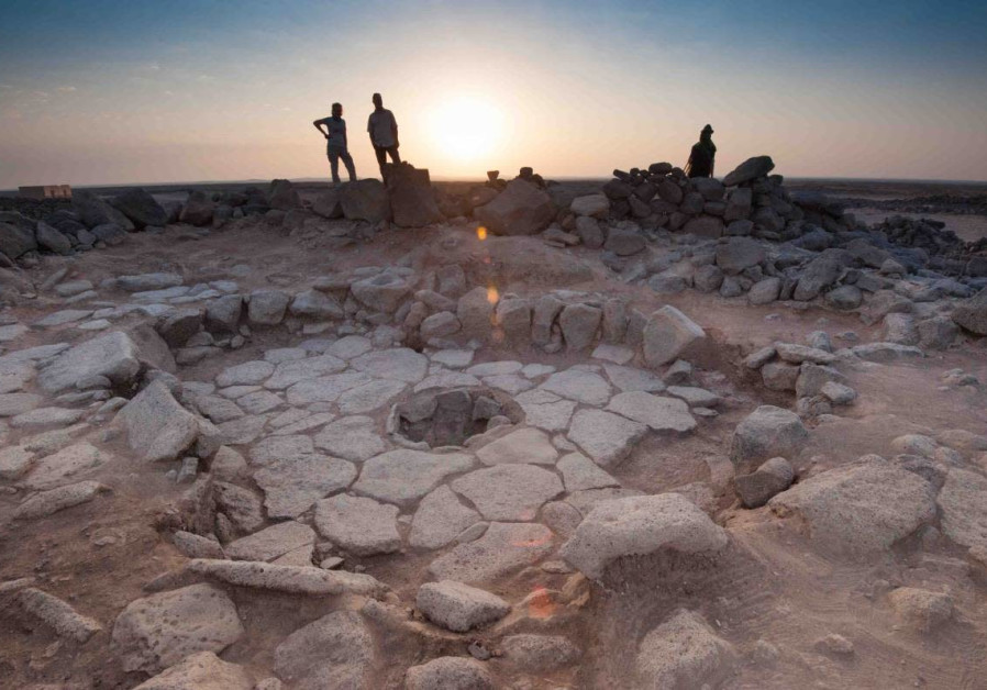 A recently excavated Natufian hearth in Jordan
