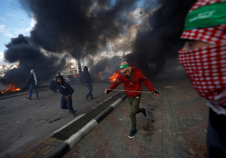 Palestinians injured in clashes with Israeli in Gaza city