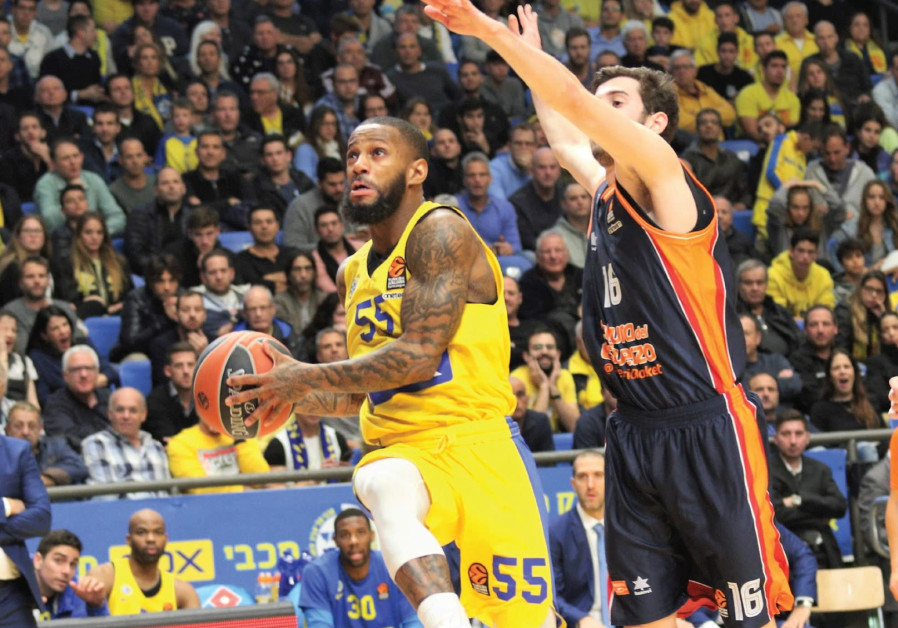 Maccabi Tel Aviv builds momentum with Valencia win