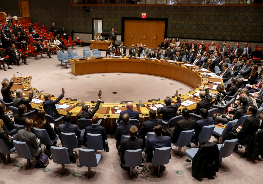 Europe, Arabs to unite against Israel at UN Security Council