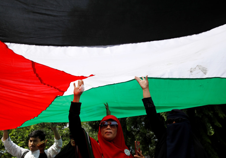 Malaysians protest outside US embassy over Trump's Jerusalem decision