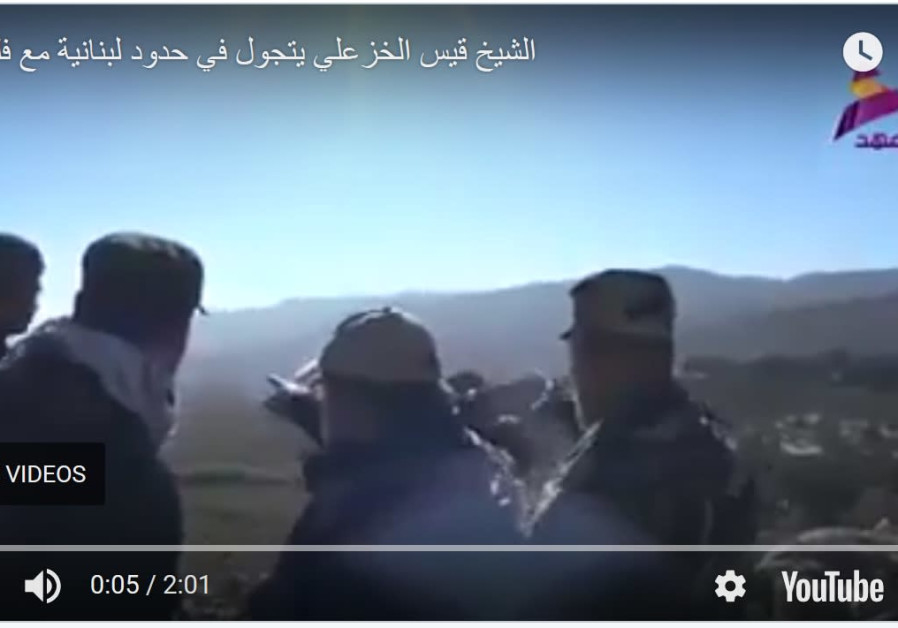 Gut Commander Of Iranian Backed Iraqi Militia Seen On Lebanese Israeli Border