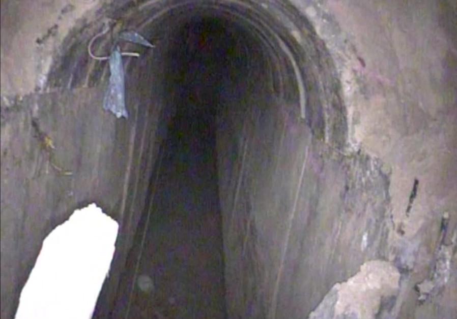 IDF destroys 15th Hamas terror tunnel