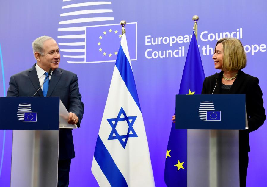 Netanyahu tells EU to stop 'spoiling' the Palestinians