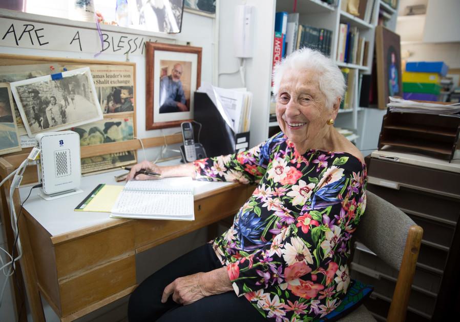 8 days of olim shining their light on Israel: Alice Shalvi