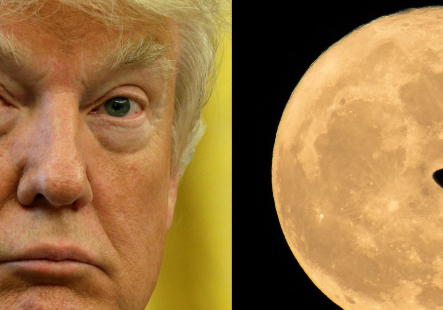 US President Donald Trump begins efforts to send NASA to the moon.
