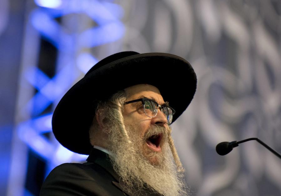 Rabbi Aaron Teitelbaum, Satmar rebbe in Kiryas Joel