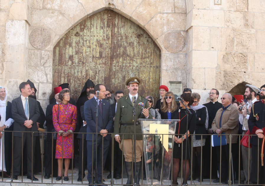 Jerusalem celebrates 100 years since Allenby entered the city with a reenactment