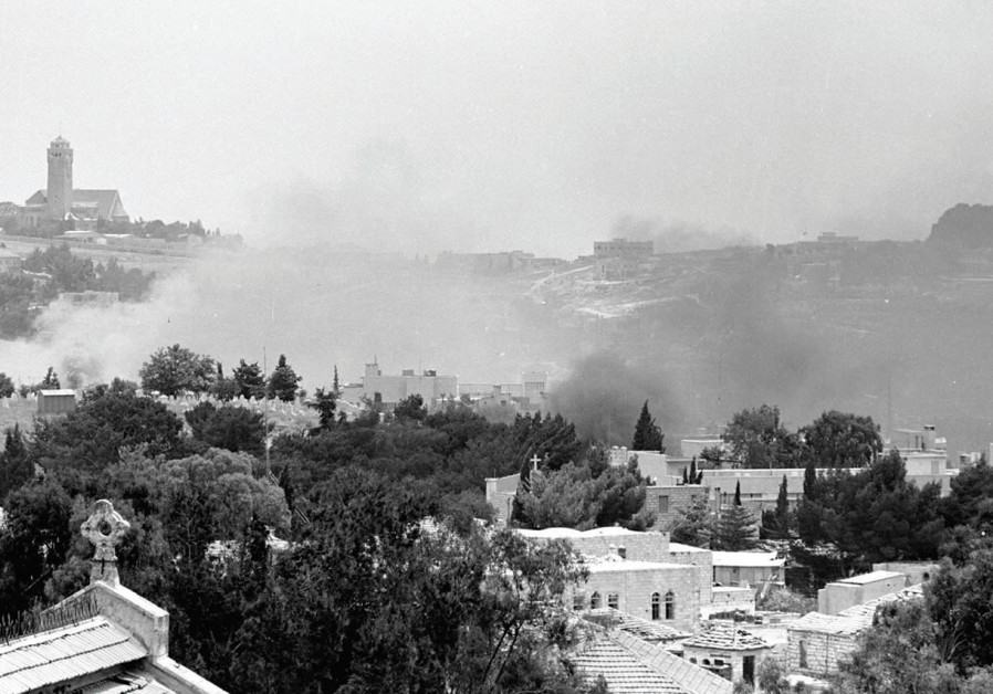 BATTLES FOR Jerusalem in 1967.