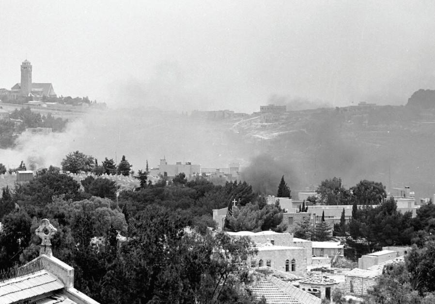 BATTLES FOR Jerusalem in 1967.