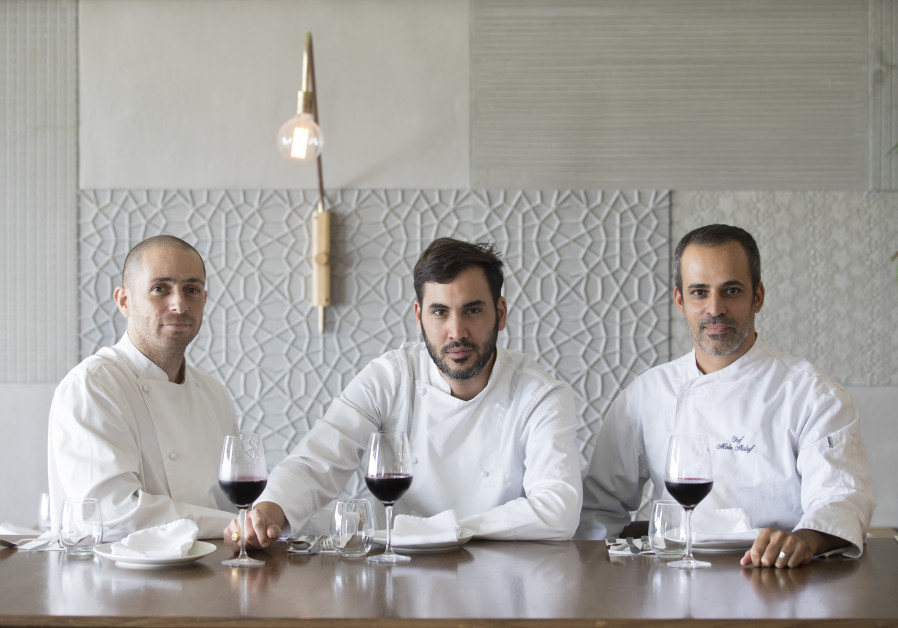 Mariposa chefs Yomi Levy, Haviv Moshe and Meir Alaluf